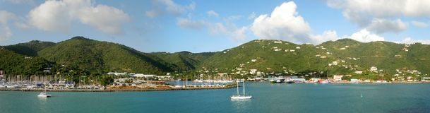 Isla de Tortola imagen de archivo