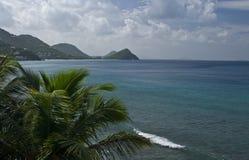 Isla de Tortola en el Caribe fotografía de archivo libre de regalías