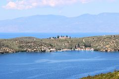 Isla de Trikeri imagen de archivo libre de regalías