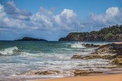 Isla de Tristan foto de archivo libre de regalías