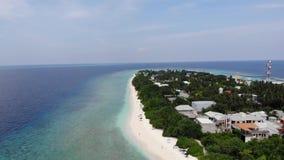 Isla de Ukulhas, Maldivas almacen de video