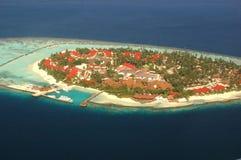 Isla de vacaciones Imagen de archivo libre de regalías