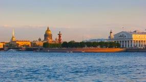 Isla de Vasilievsky Imagen de archivo