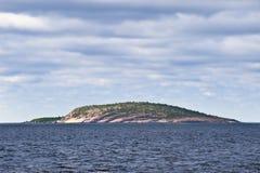 Isla de Virgen azul, Suecia Fotografía de archivo libre de regalías