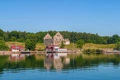 Isla de Visingso en Suecia imagen de archivo libre de regalías