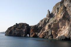Isla de Vulcano imagenes de archivo