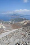 Isla de Vulcano, Lipari, Italia Fotografía de archivo libre de regalías