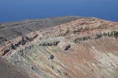 Isla de Vulcano, Lipari, Italia Fotos de archivo