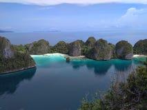 Isla de Wayag foto de archivo libre de regalías