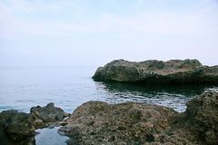 Isla de Weizhou fotografía de archivo libre de regalías
