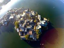 Isla de Yuji de Shuanglang Fotografía de archivo