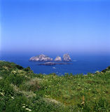 Isla de YuShan Imágenes de archivo libres de regalías