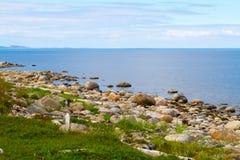 Isla de Zayatsky Imagen de archivo libre de regalías
