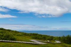 Isla de Zayatsky, archipiélago de Solovetsky Fotografía de archivo libre de regalías