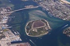 Isla del cacahuete, la Florida Fotografía de archivo