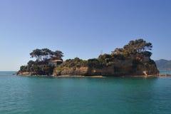 Isla del camafeo Foto de archivo libre de regalías