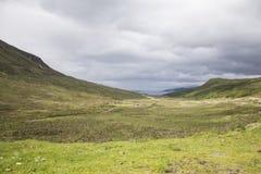 Isla del campo de Skye, Escocia Fotografía de archivo