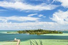 Isla del coco Fotografía de archivo libre de regalías