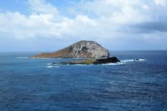 Isla del conejo en Oahu Hawaii los E.E.U.U. imagen de archivo