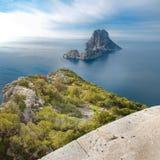 Isla del Es Vedra en Ibiza fotografía de archivo