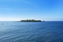 Isla del faro Imagen de archivo libre de regalías