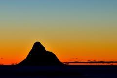 Isla del frailecillo de Andenes foto de archivo