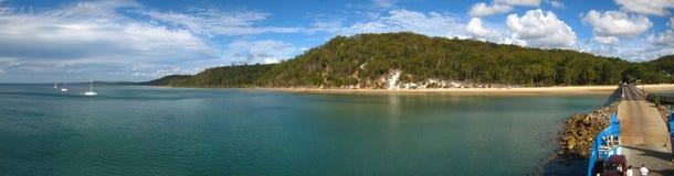 Isla del fraser de Australia Foto de archivo libre de regalías