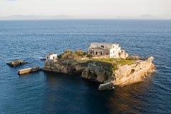 Isla del Gaiola, Nápoles Fotografía de archivo libre de regalías
