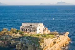 Isla del Gaiola, Nápoles Fotos de archivo libres de regalías