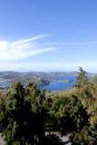 Isla del Griego de Patmos Imágenes de archivo libres de regalías