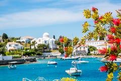 Isla del Griego de Spetses Imágenes de archivo libres de regalías