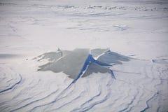 Isla del hielo Imagen de archivo libre de regalías