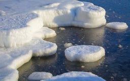 Isla del hielo Imagen de archivo