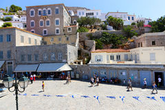 Isla del Hydra - Grecia Foto de archivo libre de regalías