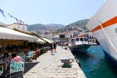 Isla del Hydra - Grecia Foto de archivo