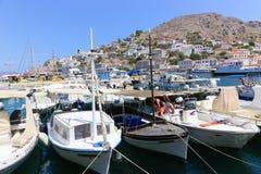 Isla del Hydra - islas de Grecia Imagen de archivo