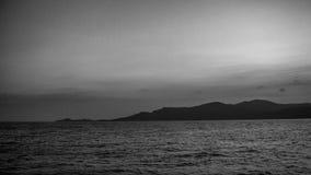 Isla del jawa de Karimun con estilo blanco y negro foto de archivo