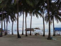 Isla del laut de Mubud - archipiélago de Riau fotografía de archivo