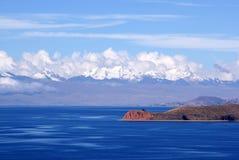 Isla del luna, Bolivië Stock Fotografie