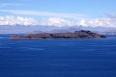 Isla del luna, Bolivia Stock Photos