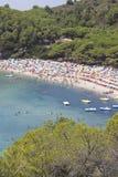 Isla del mar de Elba Fotografía de archivo