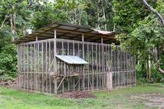 Isla del mono de la jaula Fotos de archivo libres de regalías
