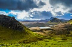 Isla del paisaje de Skye fotografía de archivo libre de regalías