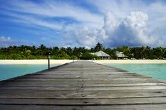 Isla del paraíso Fotografía de archivo