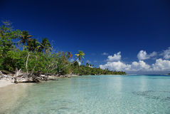 Isla del paraíso de South Pacific imágenes de archivo libres de regalías