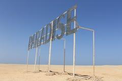 Isla del paraíso, Egipto Foto de archivo libre de regalías