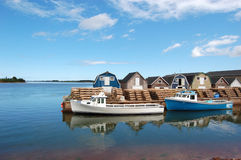 Isla del Principe Eduardo escénica Foto de archivo