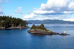 Isla del resorte de la sal Fotografía de archivo