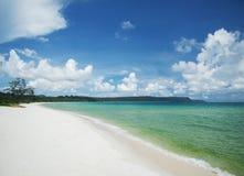 Isla del rong de la KOH de Sok san Long Beach cerca de Sihanoukville Camboya Fotos de archivo