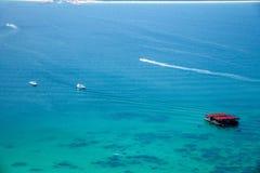 Isla del salto de Lingshui de la isla del límite Foto de archivo libre de regalías